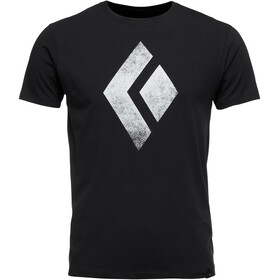 Black Diamond Chalked Up SS T-shirt Herrer, sort
